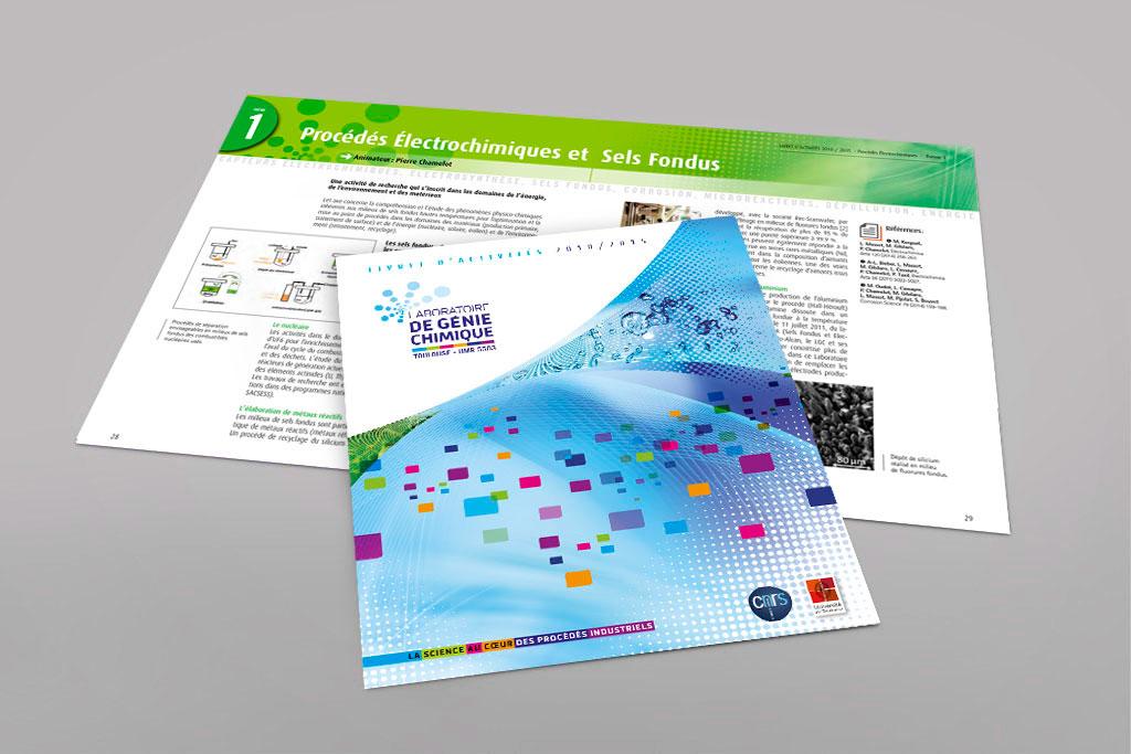 Rapport d'activité du Laboratoire de Génie Chimique de Toulouse